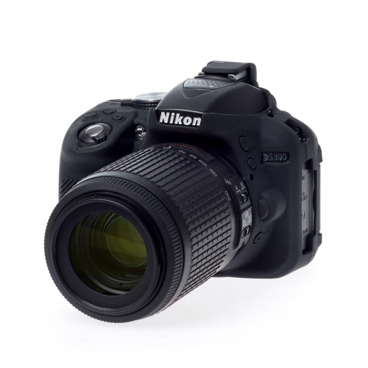 Easy Cover Reflex Silic Nikon D5300 Black