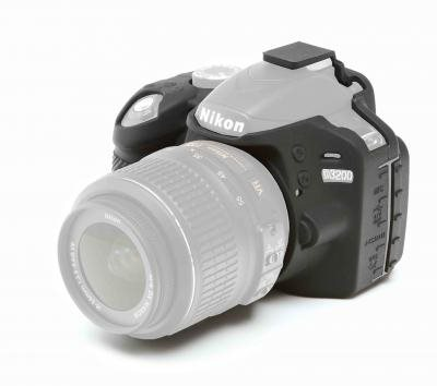 Easy Cover Reflex Silic Nikon D5200 Black