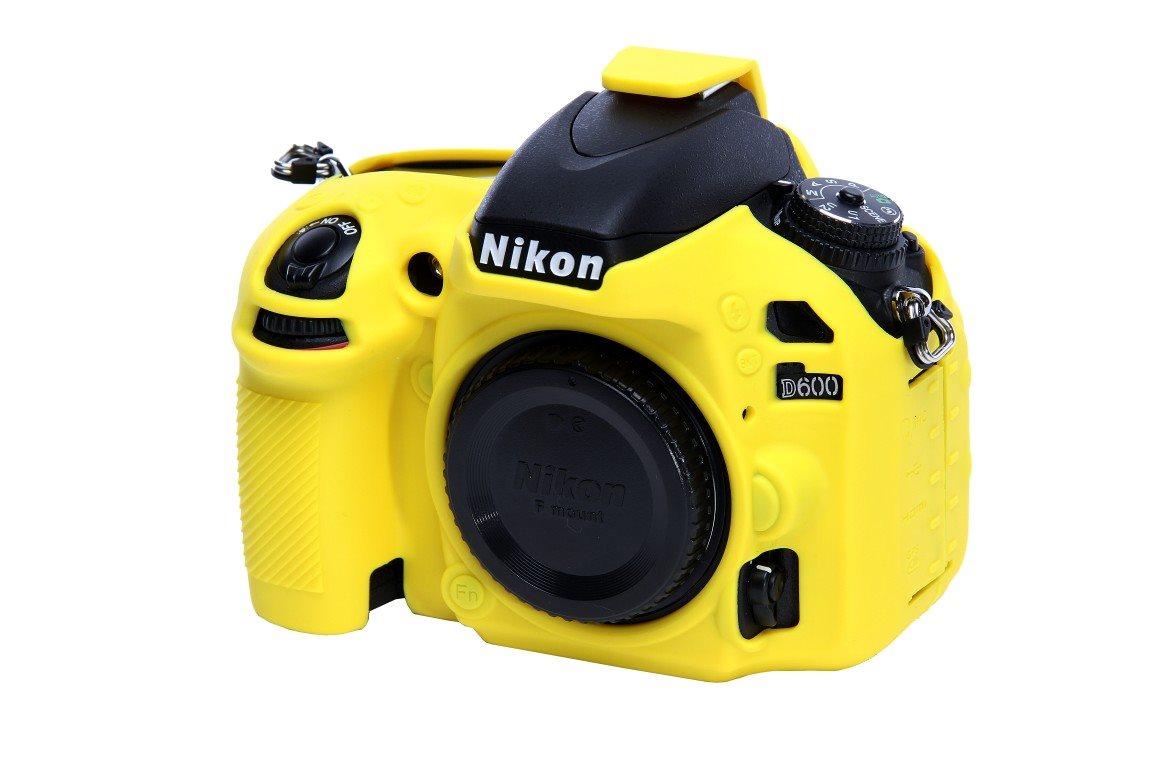 Easy Cover Reflex Silic Nikon D600 Yellow