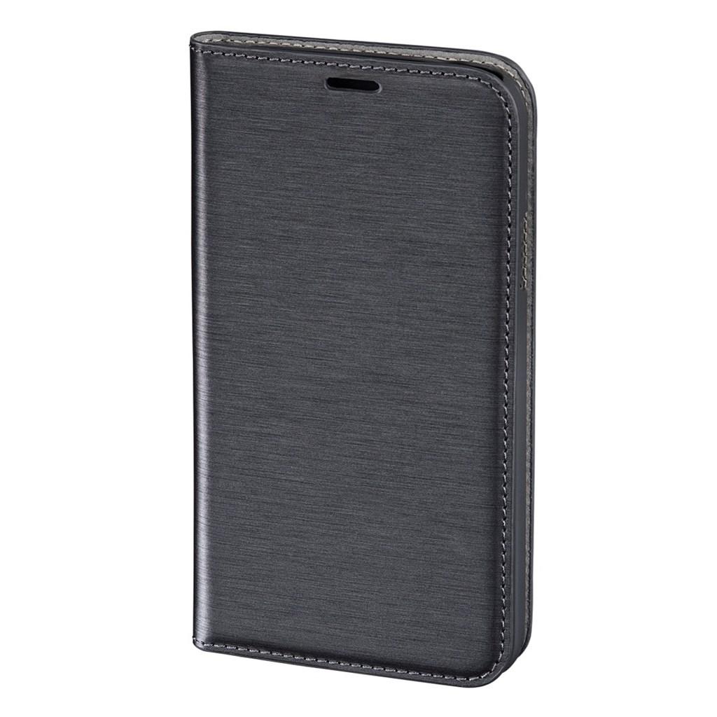Hama pocket Case Booklet Case for Samsung Galaxy S5, dark grey