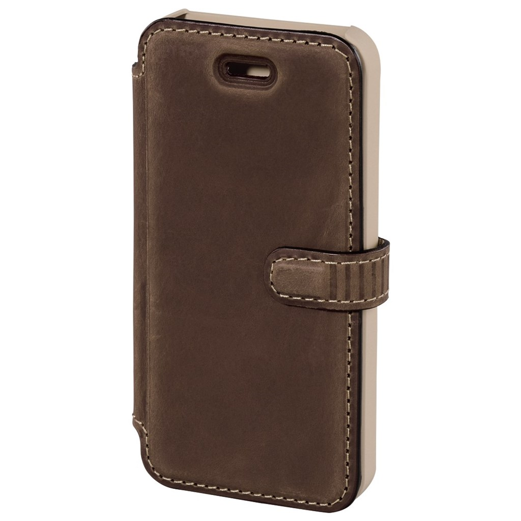 Hama prime Line Mobile Phone Portfolio for Apple iPhone 4/4s, country brown
