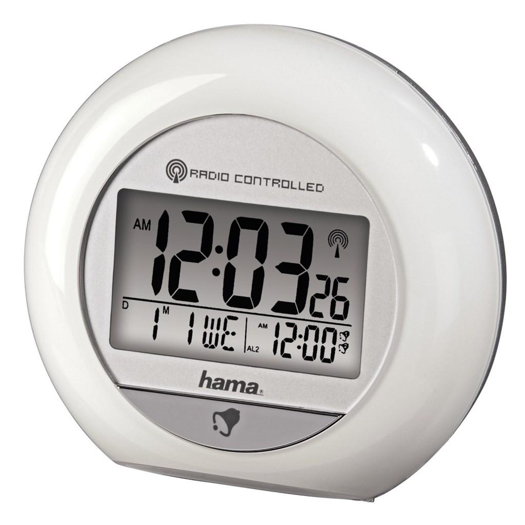Hama RC 600 Radio-Controlled Alarm Clock