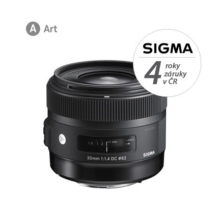 SIGMA 30/1.4 DC HSM ART SONY