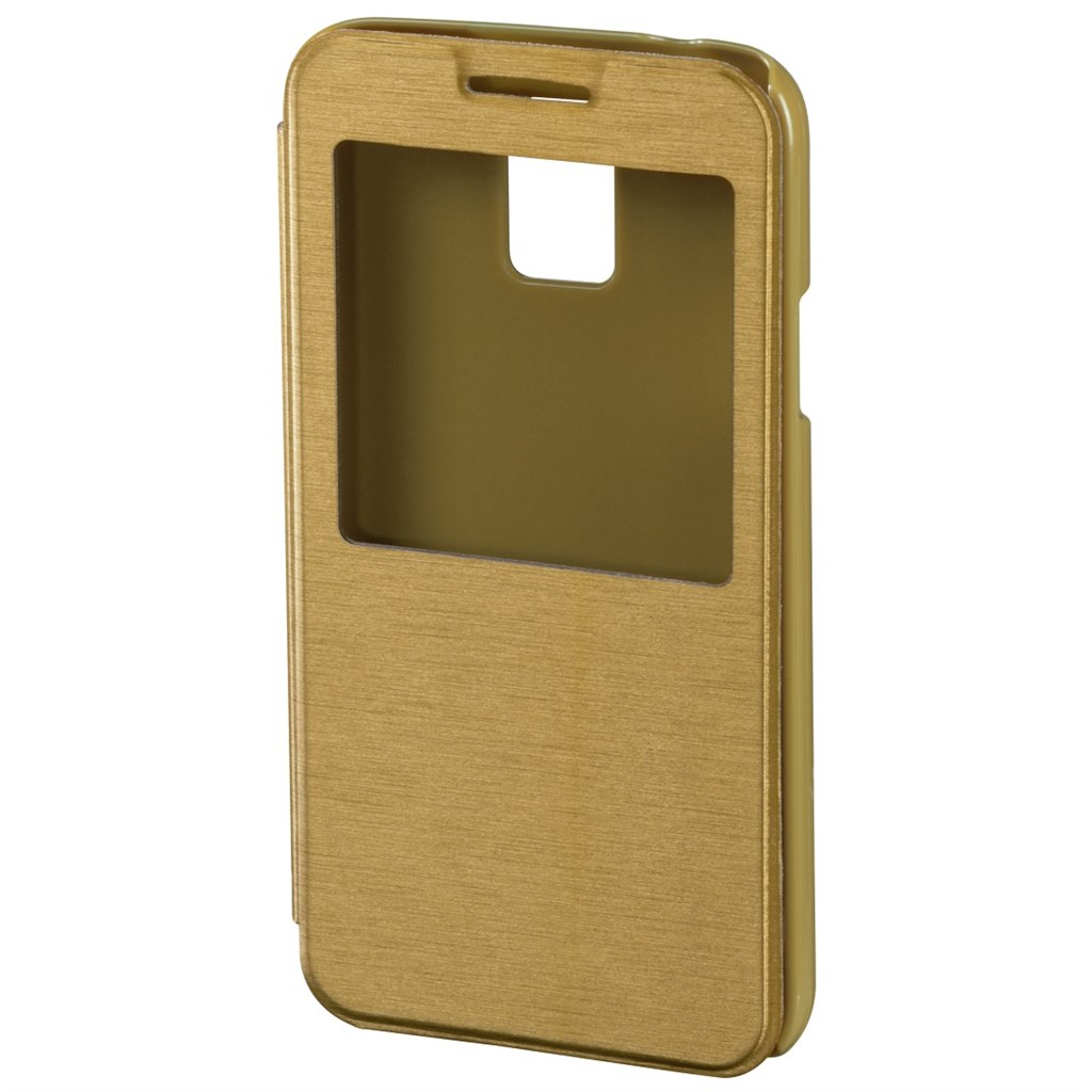 Hama window Booklet Case for Samsung Galaxy S5, copper