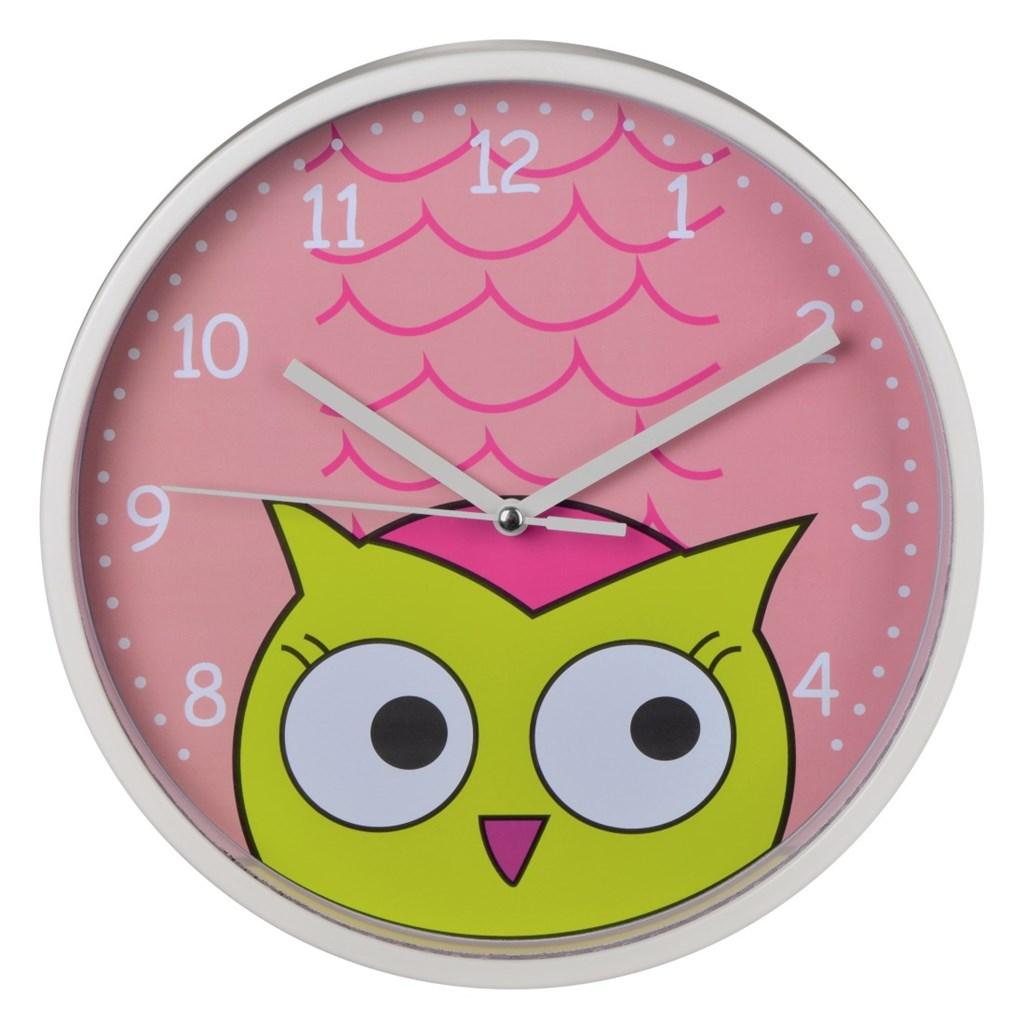 Hama dětské nástěnné hodiny Sova
