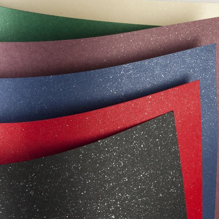 ozdobný papír Mika červená 240g, 20ks