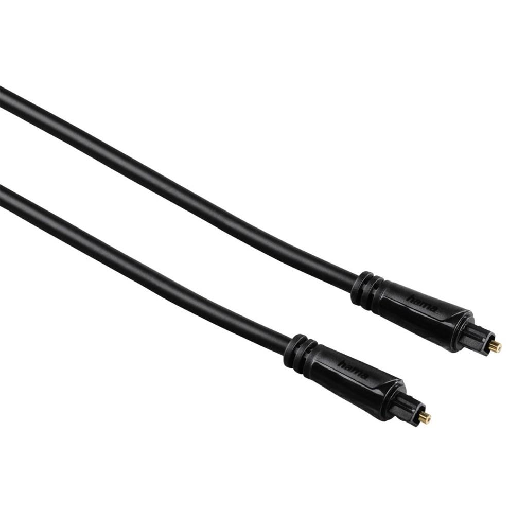 Hama optický audio kabel ODT, Toslink vidlice-vidlice, 3*, 3 m