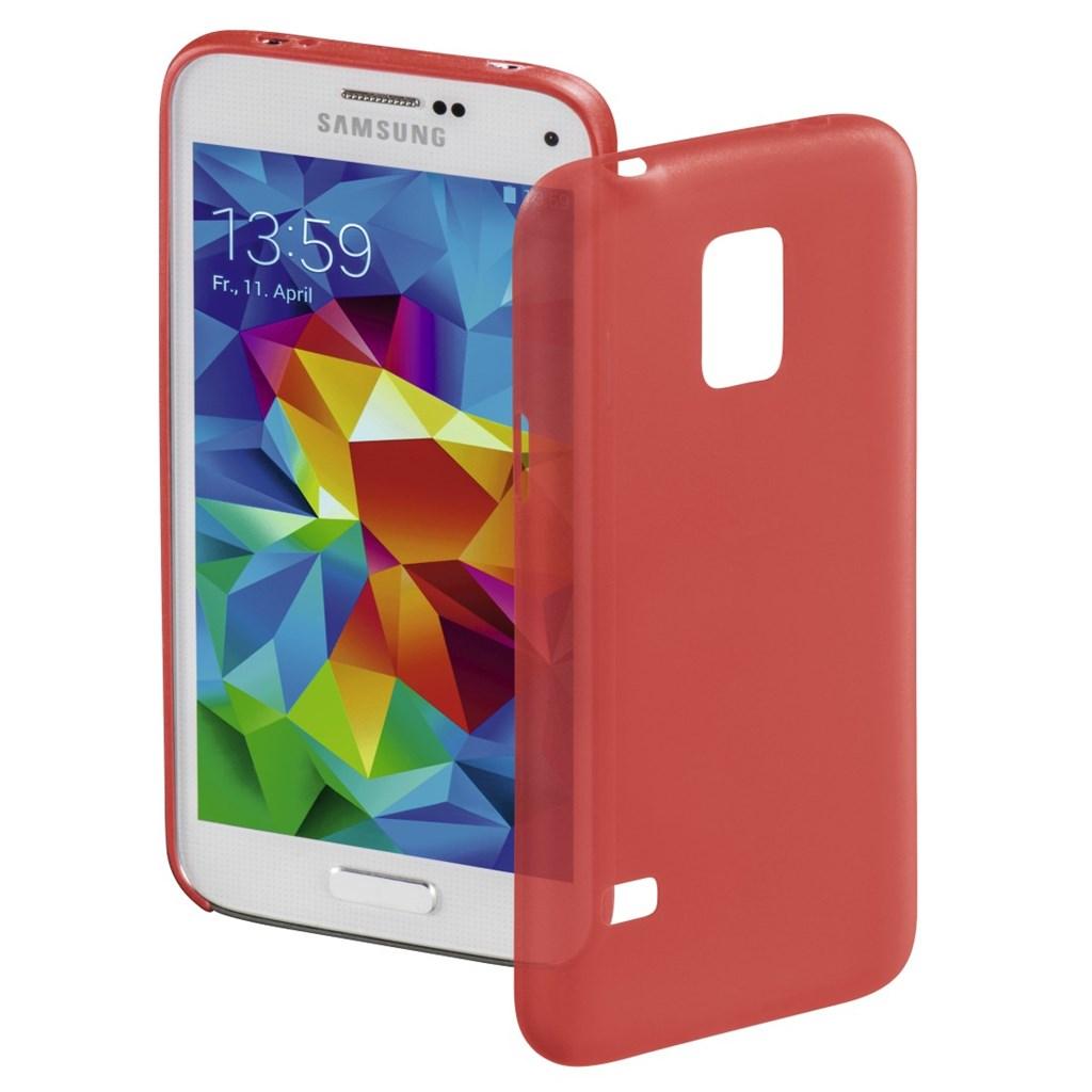 Hama kryt Ultra Slim pro Samsung Galaxy S5 mini, červený