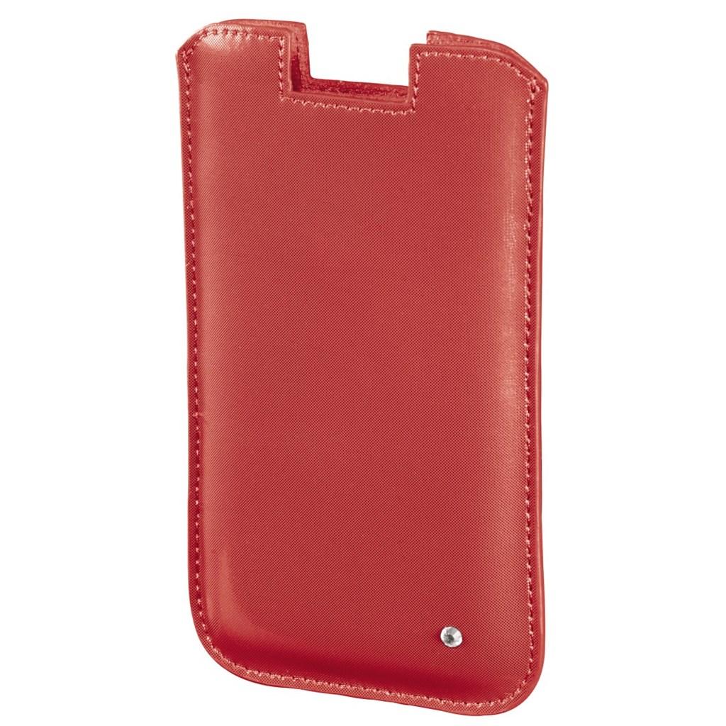 Hama pouzdro na mobil Shiny Metallic, velikost XL, oranžové