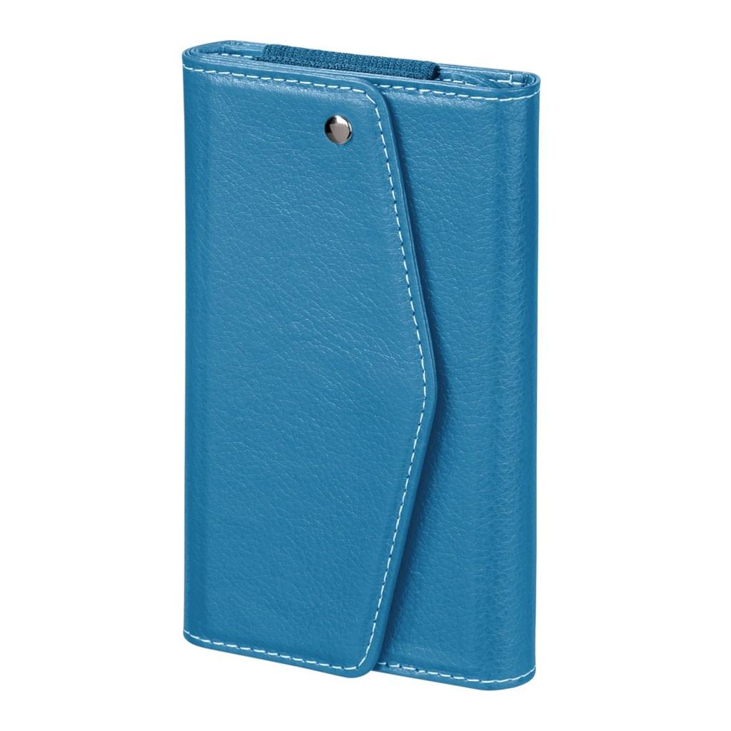 Hama pouzdro-peněženka na mobil Clutch, velikost L, aqua