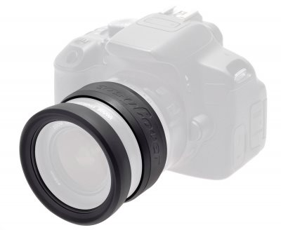 Easy Cover Lens Rim černá 72mm