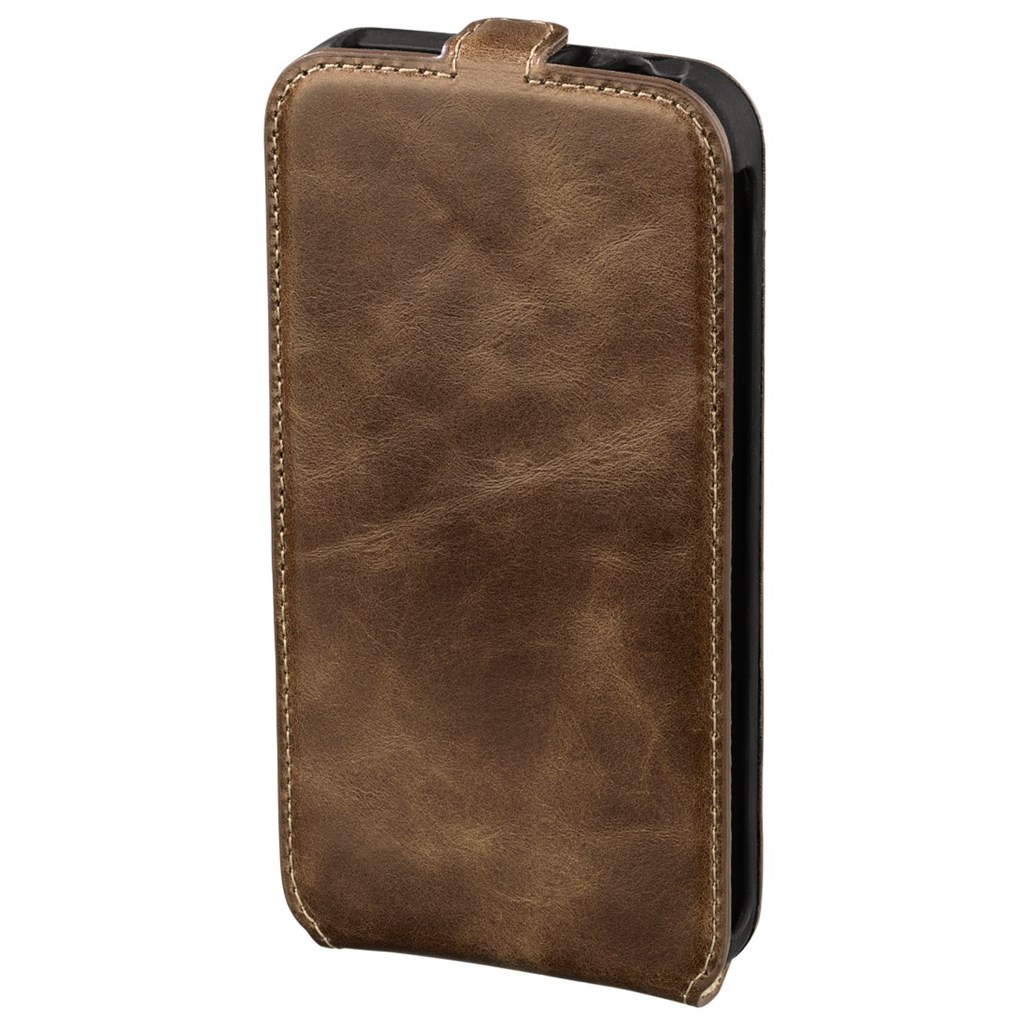 Hama prime/Smart Case Flap Case for Samsung Galaxy S5, country brown