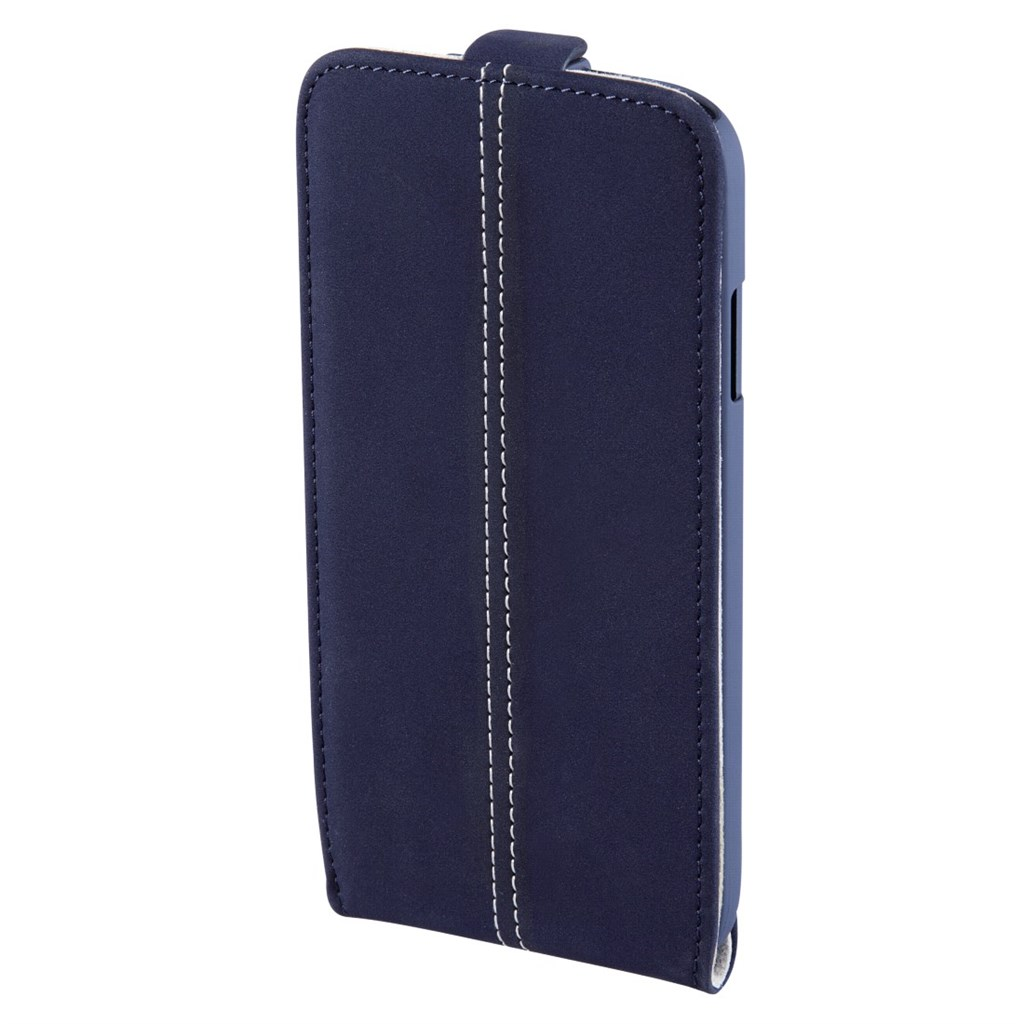 Hama smart Case Nubuck Flap Case for Samsung Galaxy S5 mini, navy