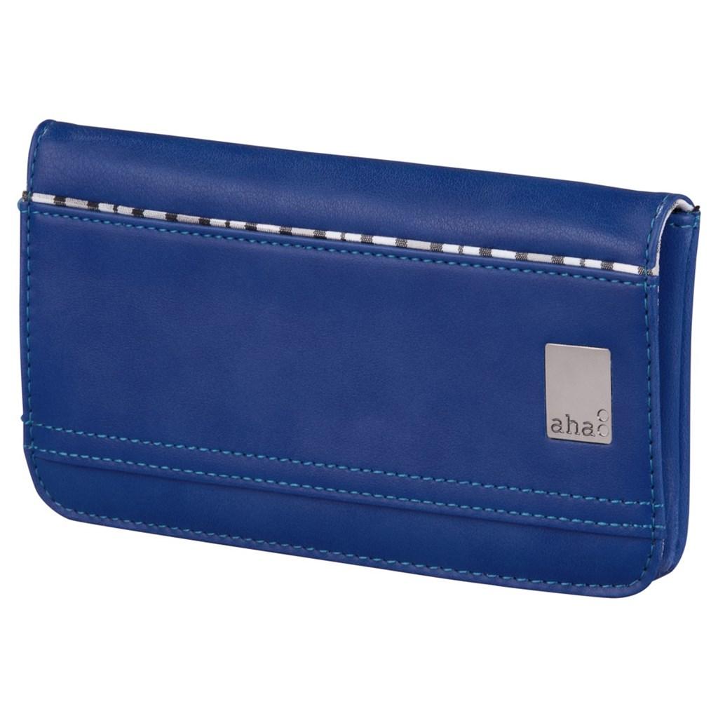 aha: pouzdro-peněženka na mobil, velikost L, tmavě modré