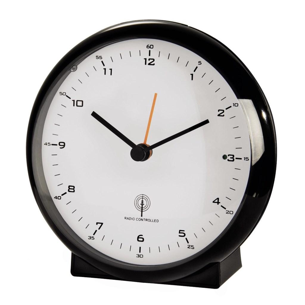 Hama elegance Pro Radio Controlled Alarm Clock, black