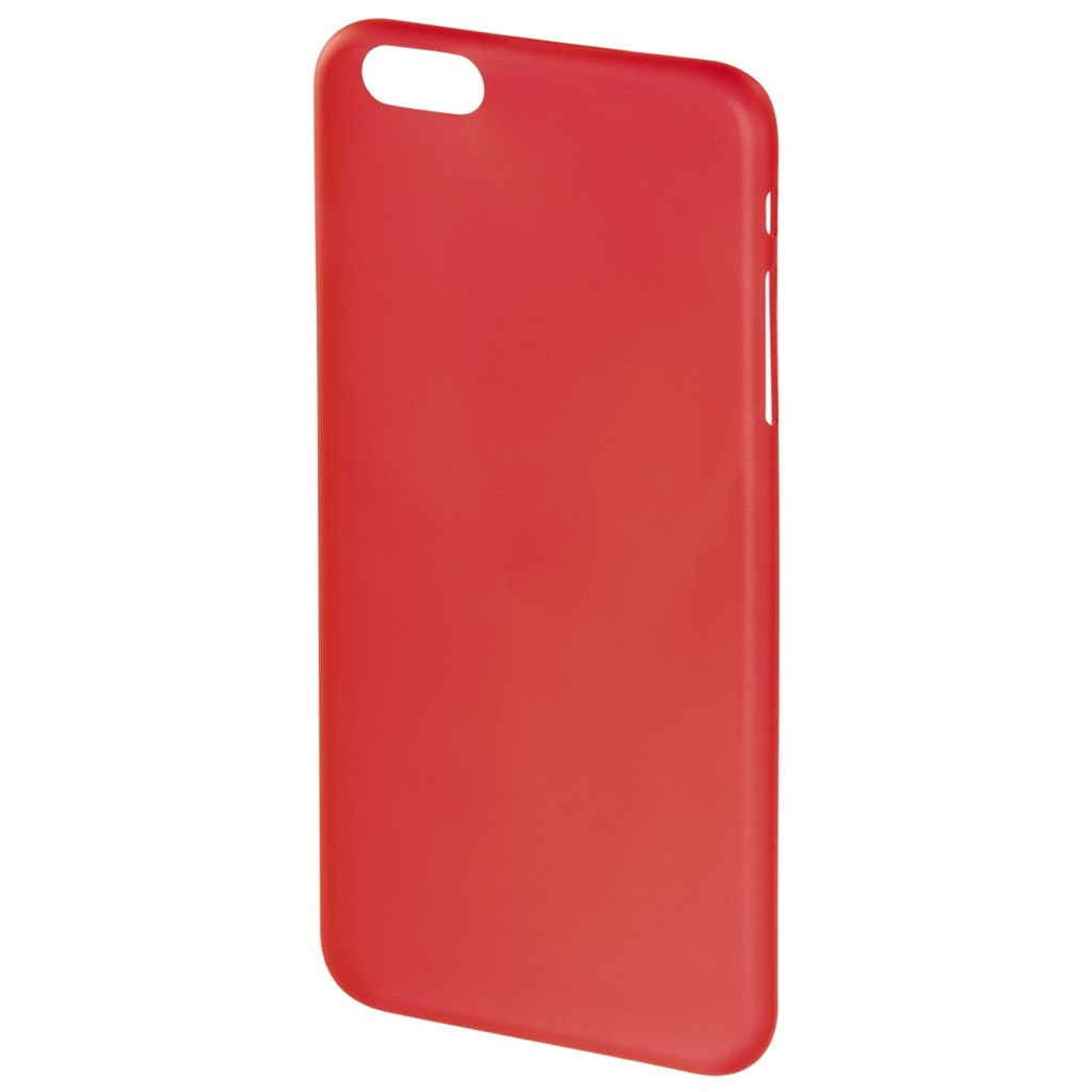 Hama ultra Slim Cover for Apple iPhone 6, red