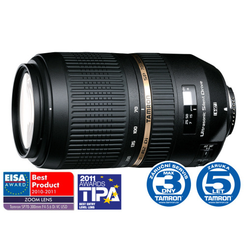 Tamron SP AF 70-300mm F4-5.6 Di USD Sony