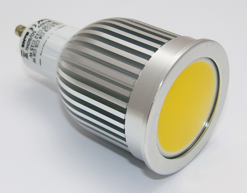 Žárovka G21 LED GU10-COB, 230V, 5W, 350lm, teplá bílá, stmívatelná