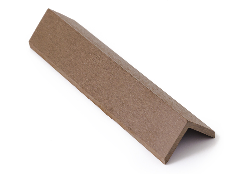 Zakončovácí lišta G21 4,5*4,5*300cm, Indický teak mat. WPC