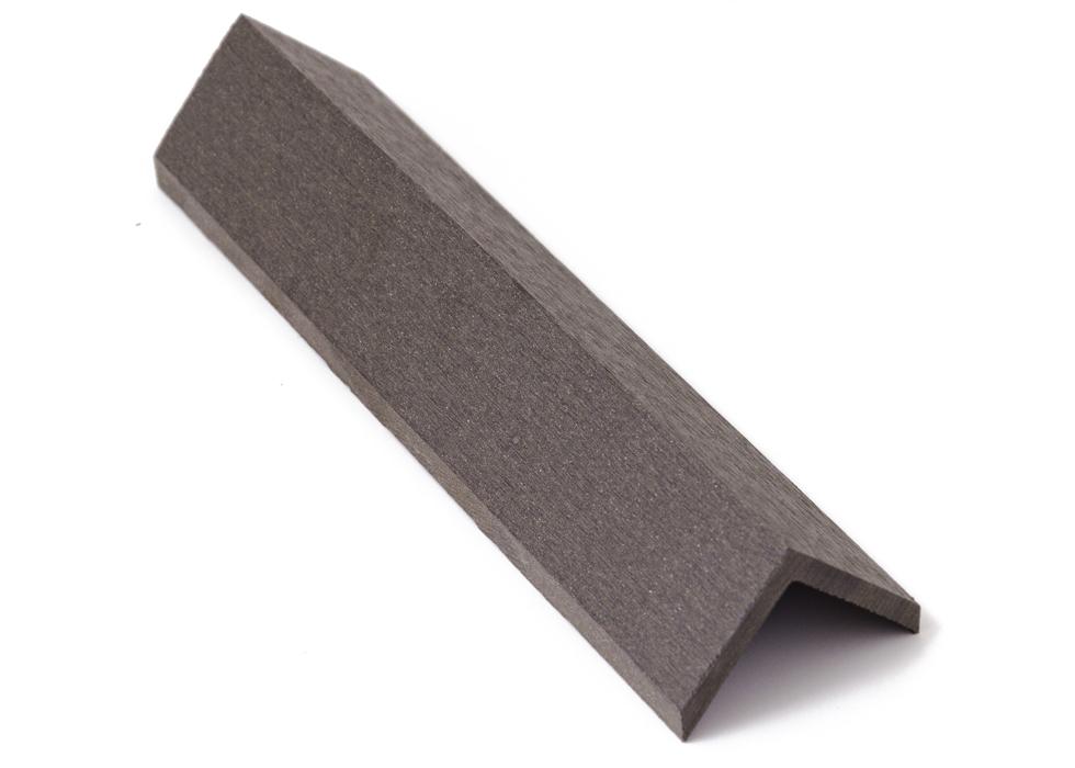 Zakončovácí lišta G21 4,5*4,5*300cm, Eben mat. WPC