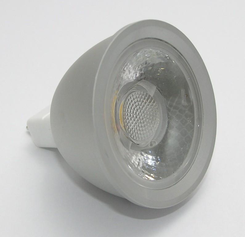 Žárovka G21 LED G5.3/MR16 COB, 12V, 6W, 480lm, bílá