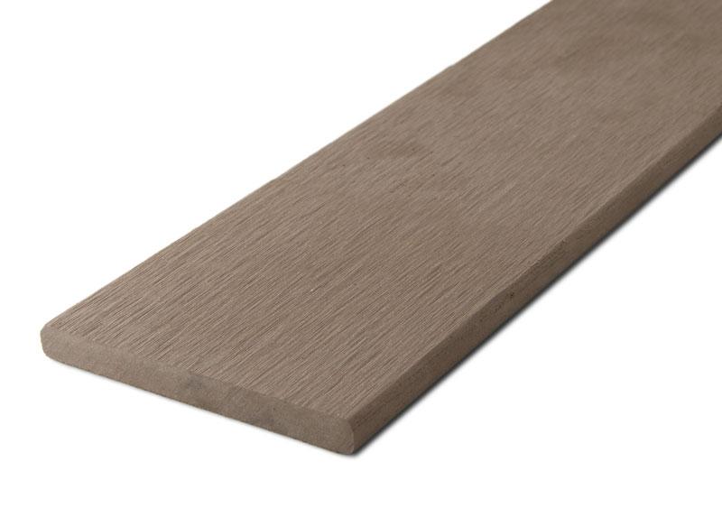 Zakončovácí lišta G21 plochá 0,9*9*200cm, Indický teak mat. WPC