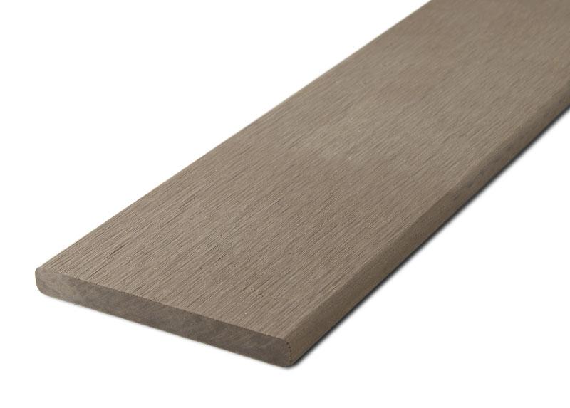 Zakončovácí lišta G21 plochá 0,9*9*200cm, Ořech mat. WPC