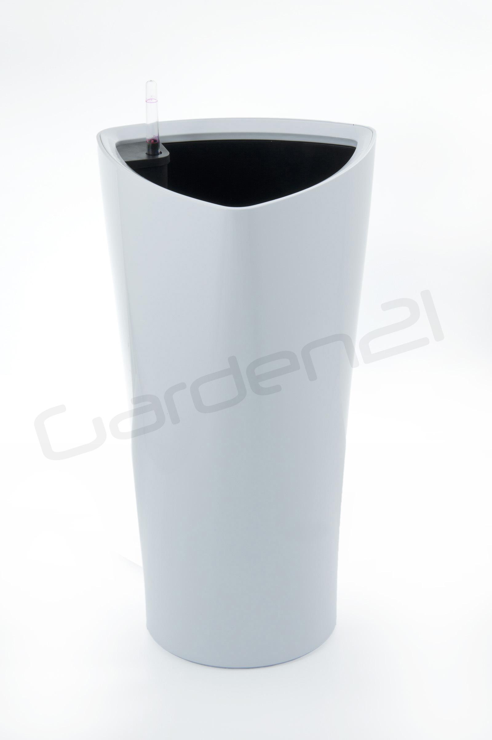 Samozavlažovací květináč G21 Trio bílý 56.5cm