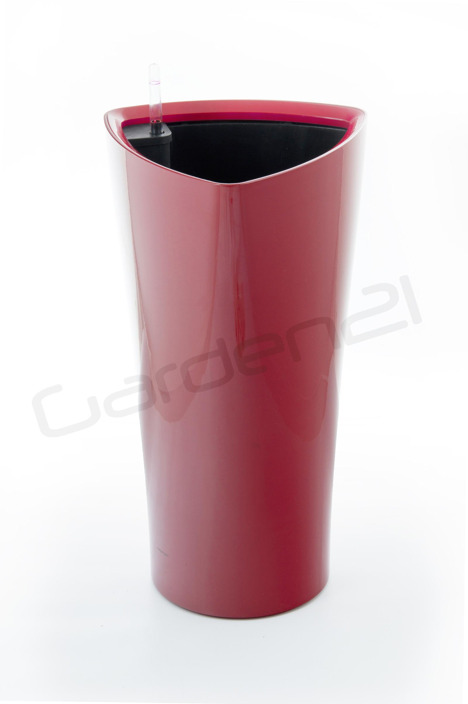Samozavlažovací květináč G21 Trio červený 56.5cm