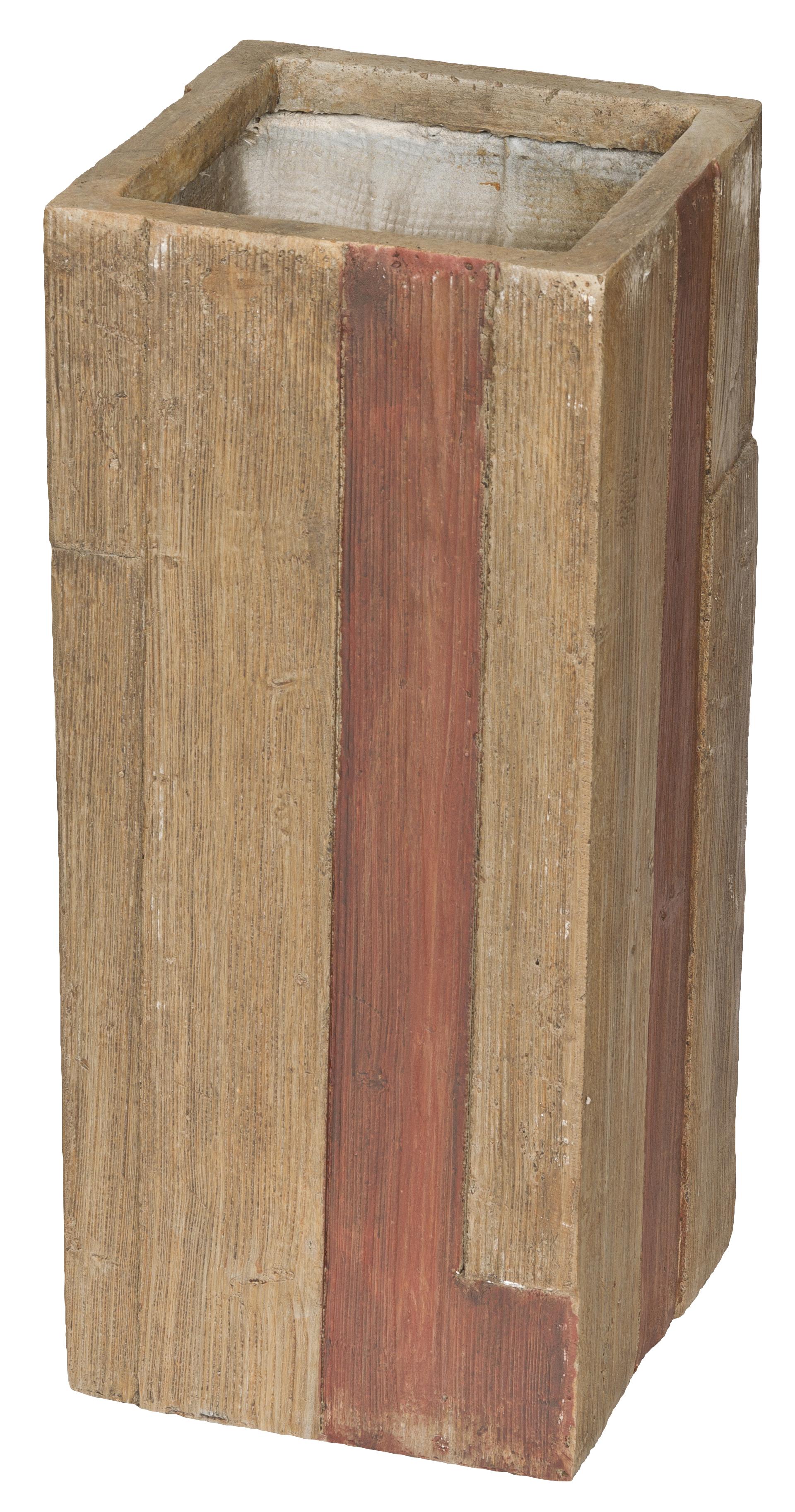 Květináč G21 Wood Tube dark 60cm