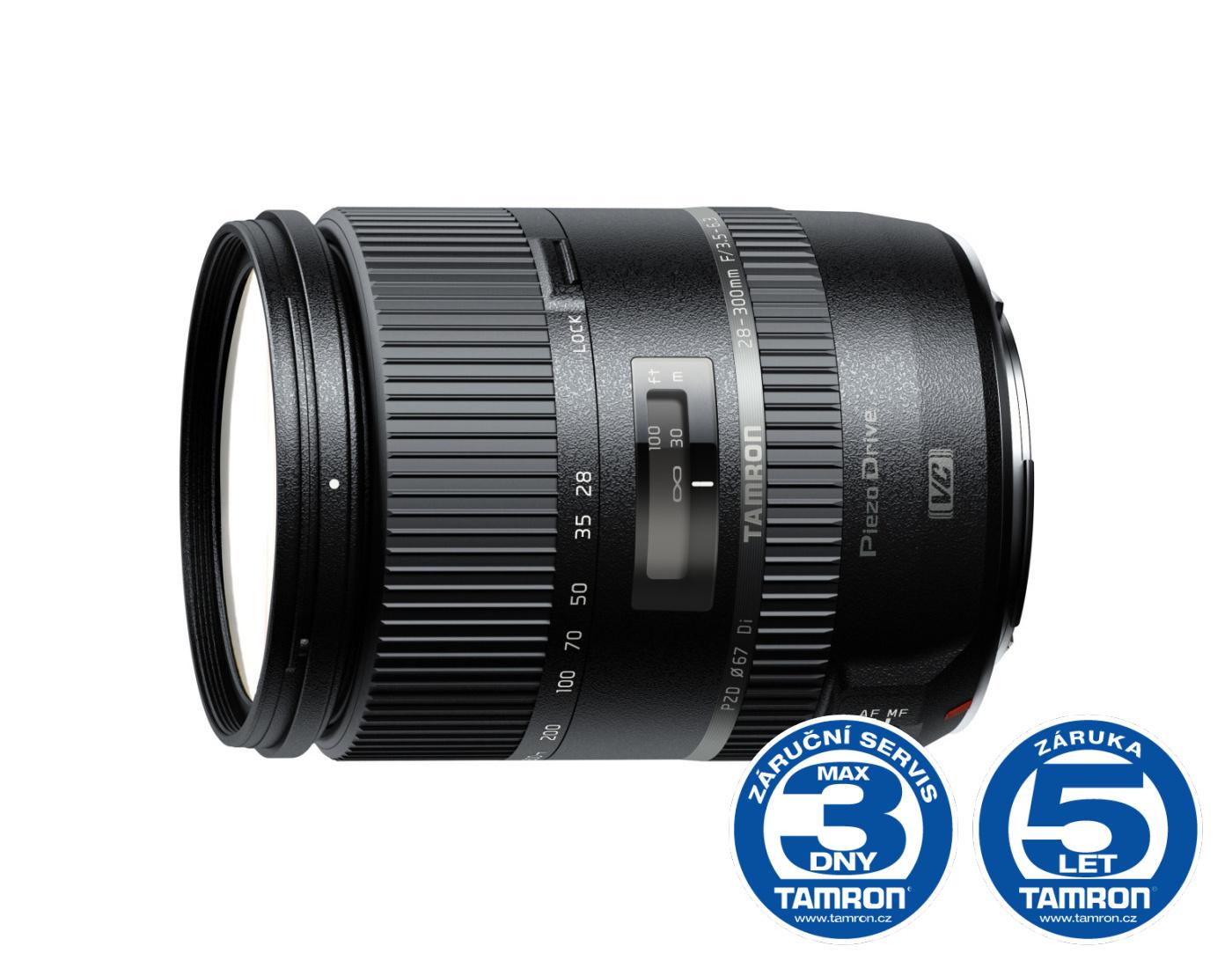 Tamron 28-300mm F/3.5-6.3 Di VC PZD Canon