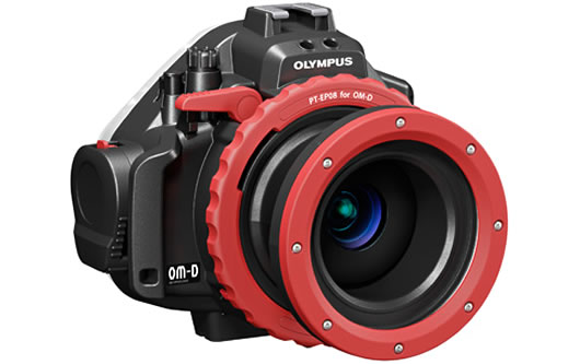 Pouzdro Olympus PT-EP08 - Podvodní pouzdro pro E-M5