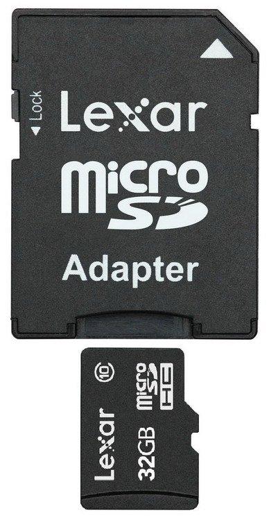 Lexar micro SDHC High Speed SD (Class 10) 32GB