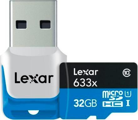Lexar UHS-I micro SDHC s USB čtečkou (Class 10) 32GB