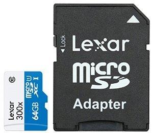 Lexar micro SDHC High Speed (Class 10) 64 GB
