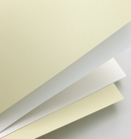 ozdobný papír Hladký ivory 250g, 20ks