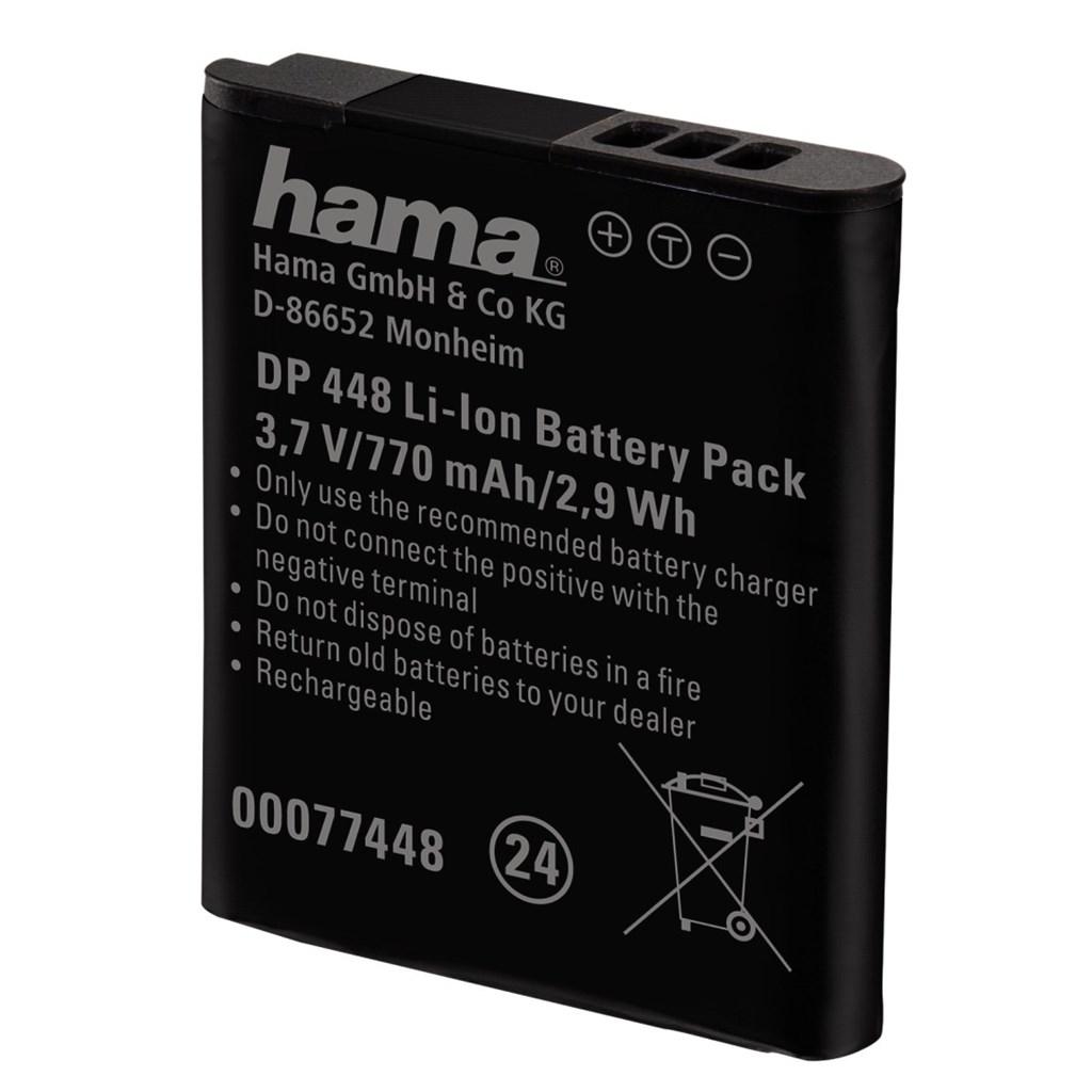 Hama fotoakumulátor Li-Ion 3,7V/700mAh, typ Panasonic DMW-BCN10
