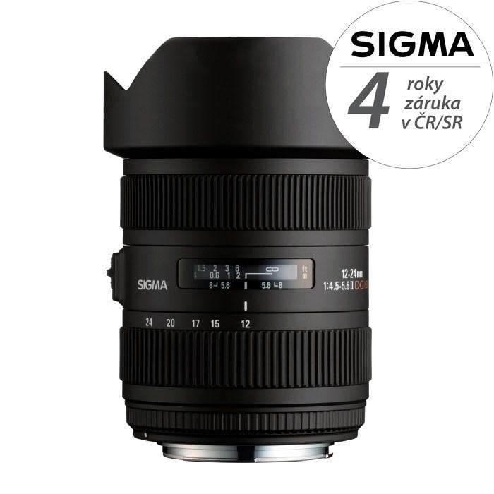 SIGMA 12-24/4.5-5.6 ll DG HSM Sony