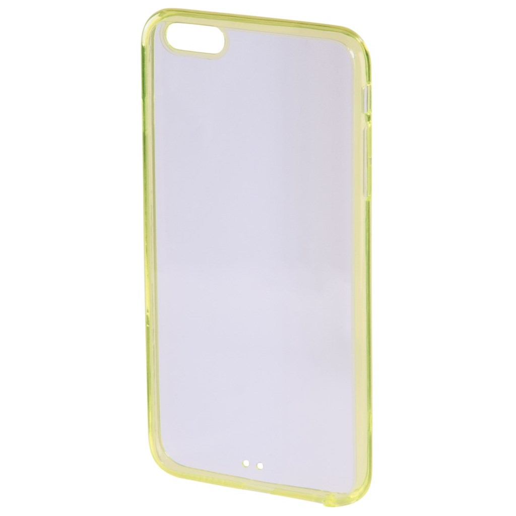 Hama frame Cover for Apple iPhone 6 Plus, yellow