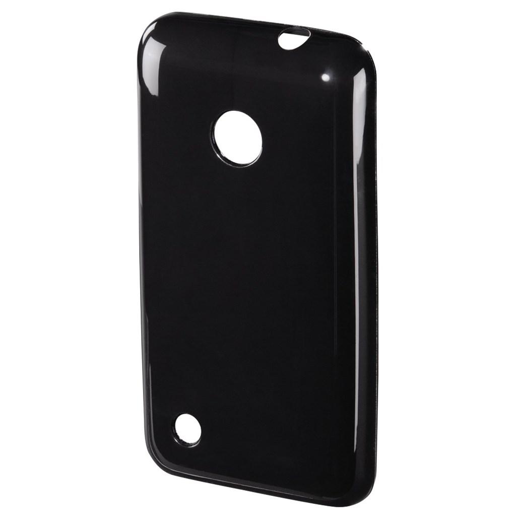 Hama crystal Cover for Nokia Lumia 530, black