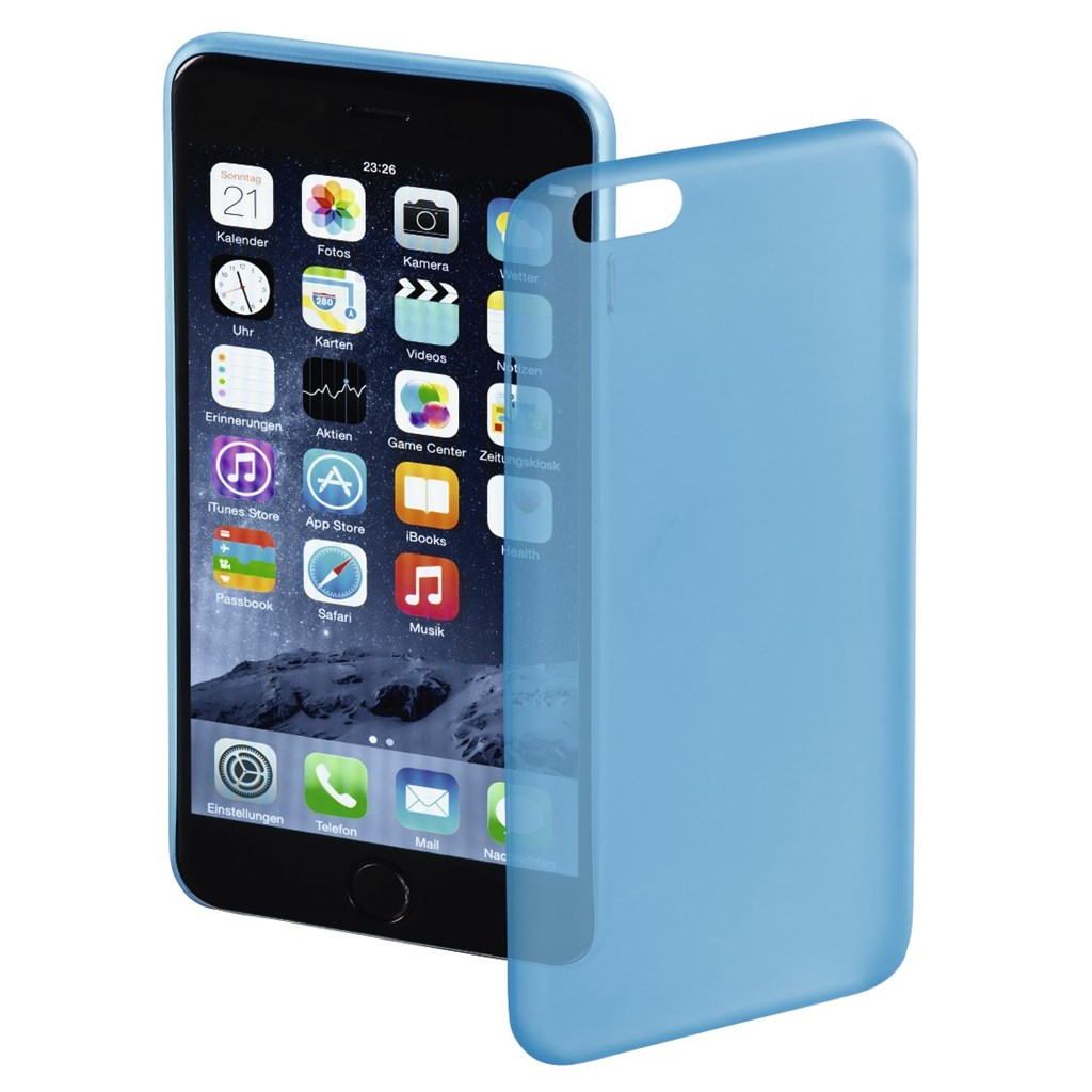 Hama ultra Slim Cover for Apple iPhone 6 Plus, blue
