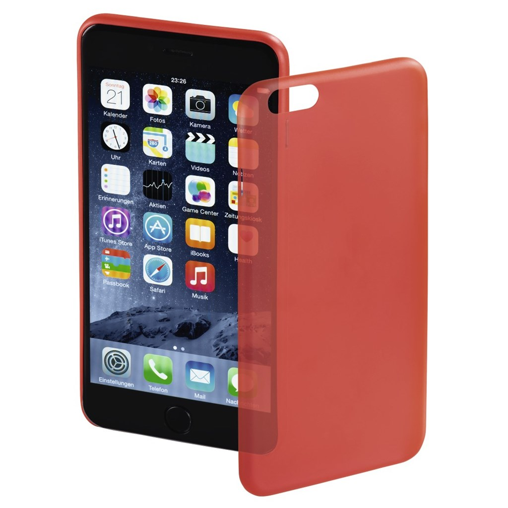 Hama ultra Slim Cover for Apple iPhone 6 Plus, red