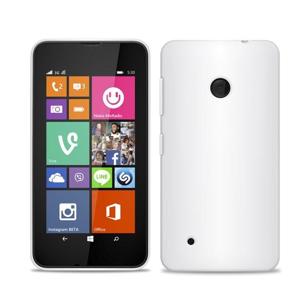 Puro silikonový kryt pro Nokia Lumia 530, transparentní