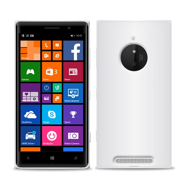 Puro silikonový kryt pro Nokia Lumia 830, transparentní