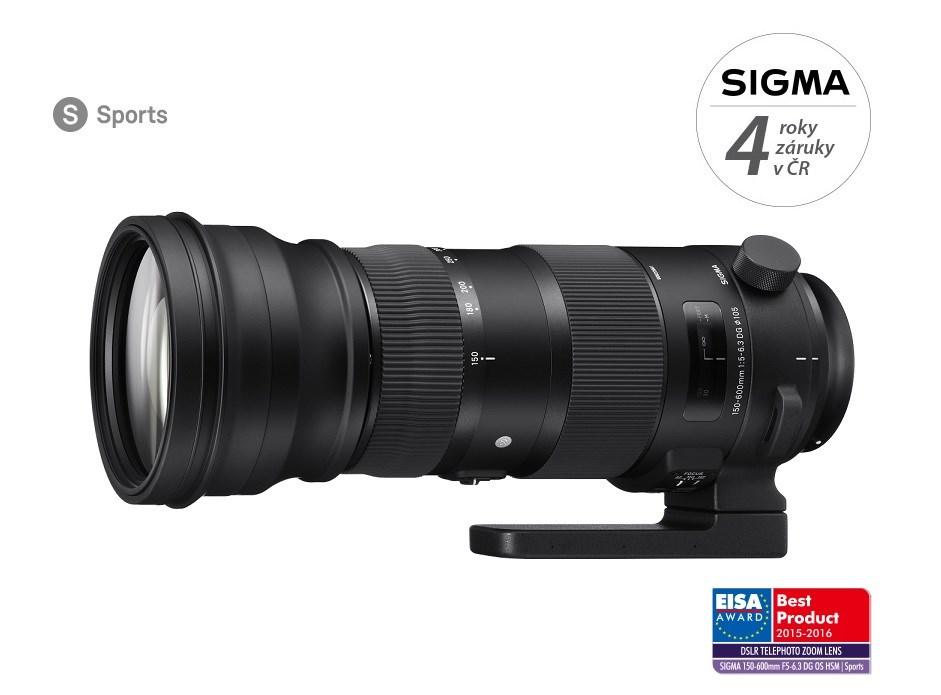 SIGMA 150-600/5-6.3 DG OS HSM SPORTS Canon