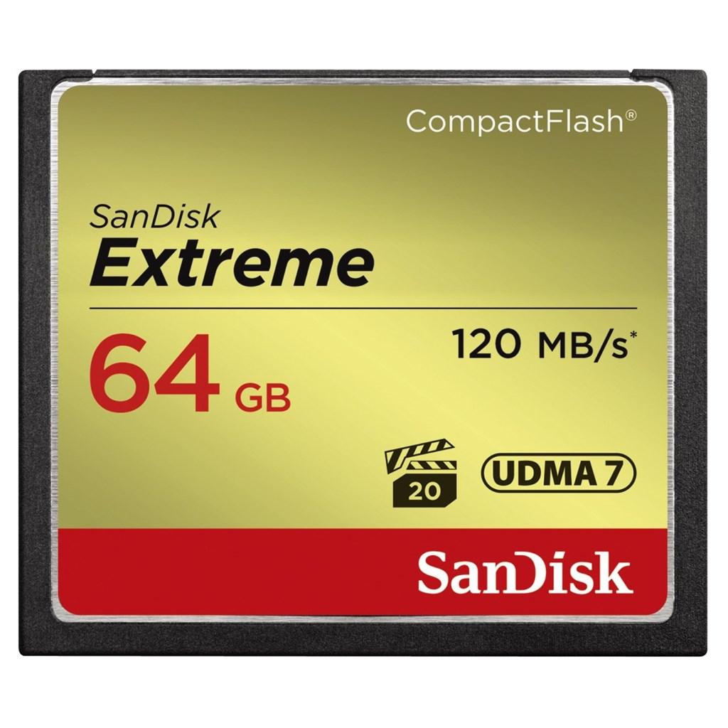 SanDisk Extreme CF 64 GB