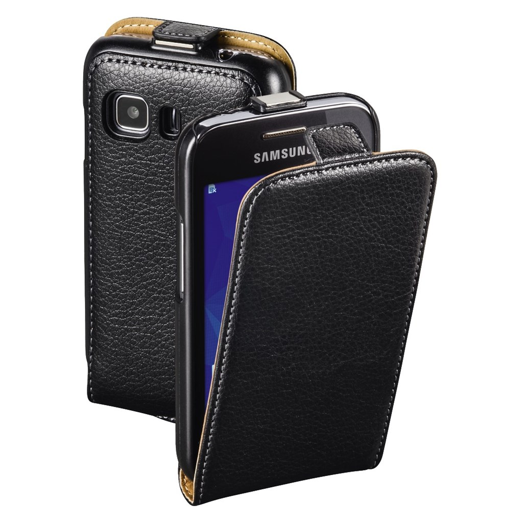 Hama smart Case Flap Case for Samsung Galaxy Young 2, black