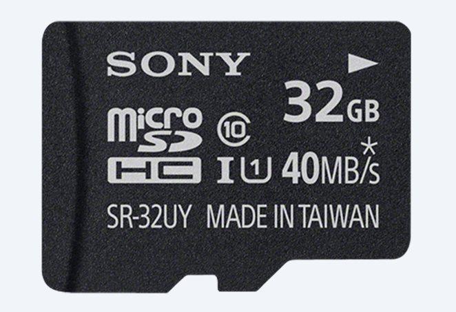 SONY micro SDHC 32GB UHS-I