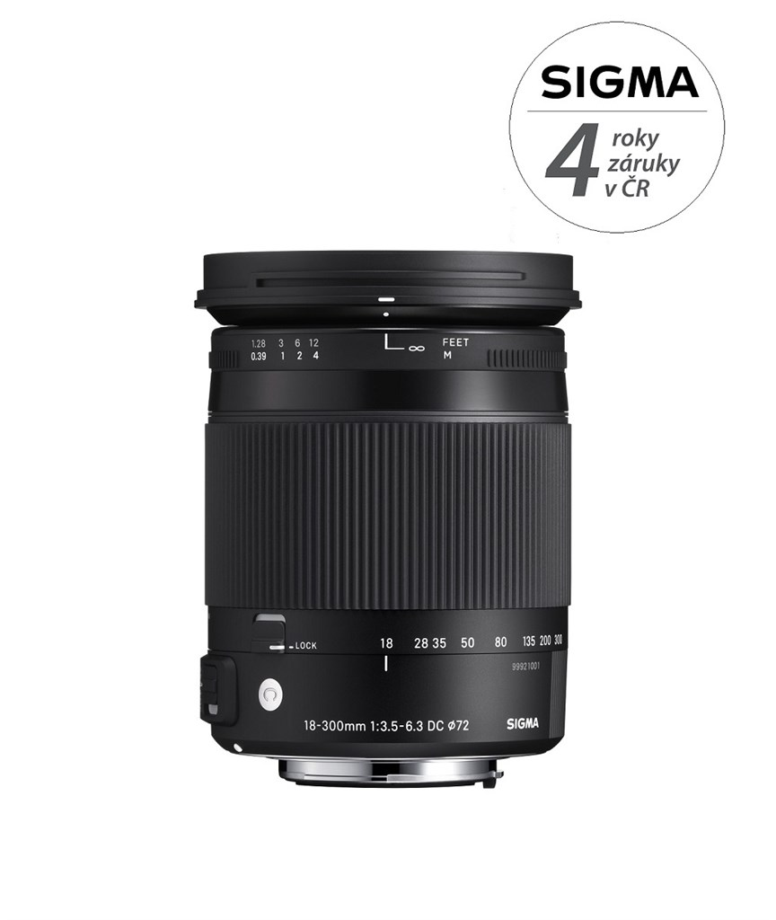 SIGMA 18-300/3.5-6.3 DC MACRO HSM Contemporary Pentax