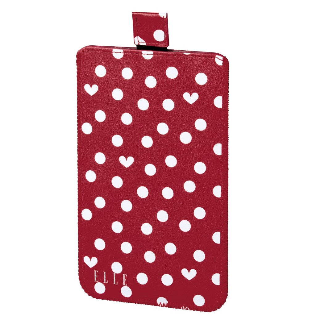 ELLE Hearts and Dots obal na mobil, velikost L